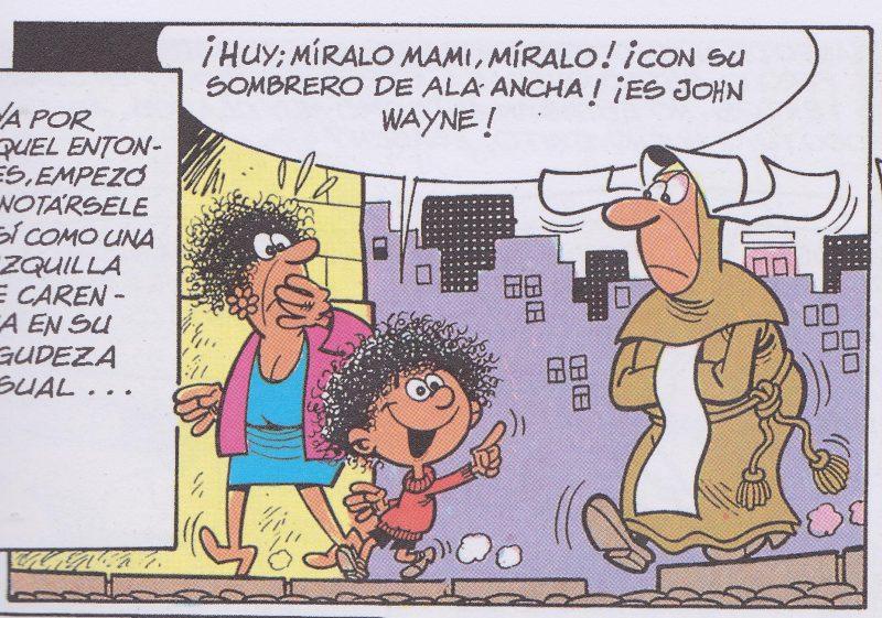 Viendo cómo Ibáñez caricaturiza su propia infancia, es fácil adivinar en quién se inspiró en primer lugar.