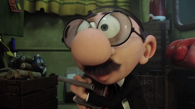 En Mortadelo y Filemón contra Jimmy el Cachondo, el personaje miope de Ibáñez sale mejor parado, pero todavía arrastra parte del lastre de la primera película.
