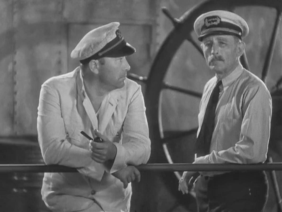 Denham y el capitán a punto de empezar una nueva vida