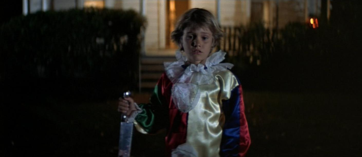 El pequeño Michael Myers luego de su primer asesinato