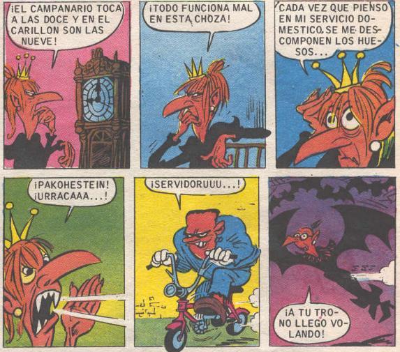 En el castillo de Nosferatu, incluso veremos a Doña Urraca adquirir poderes vampíricos.