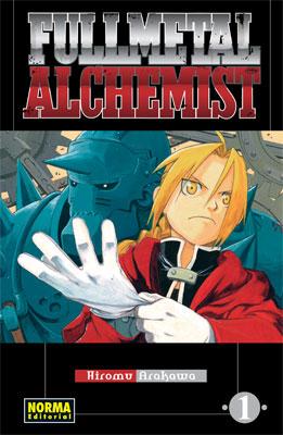 Tomo 1 de Fullmetal Alchemist, edición española.