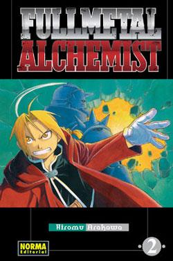 Tomo 2 de Fullmetal Alchemist, edición española.
