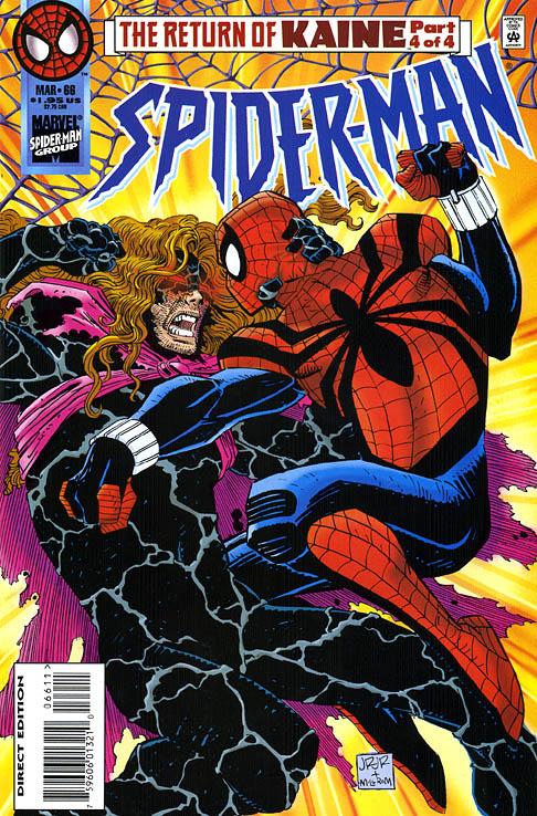 El nuevo Spider-man contra Kaine