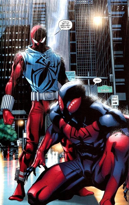 Scarlet Spider comic Kaine