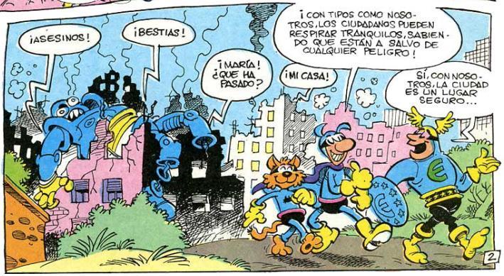 Cuando Pafman y el Capitán Europa se ponen a competir, no queda piedra sobre piedra.