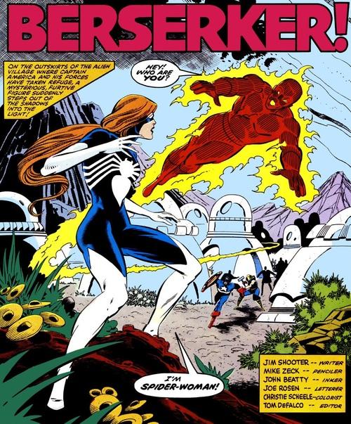 Primera aparición de Spider-Woman II