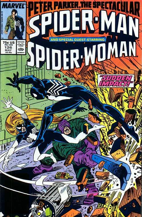 Spider-woman en la colección de Spider-man