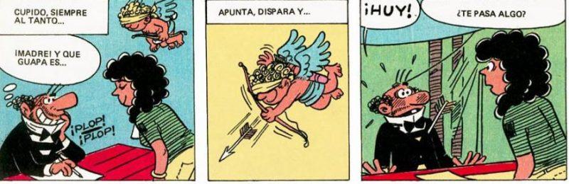 Cupido fue muy certero, ya que fue amor a primera vista (eso sí, no duró mucho).
