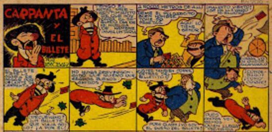 Primera historieta de la serie propiamente dicha.