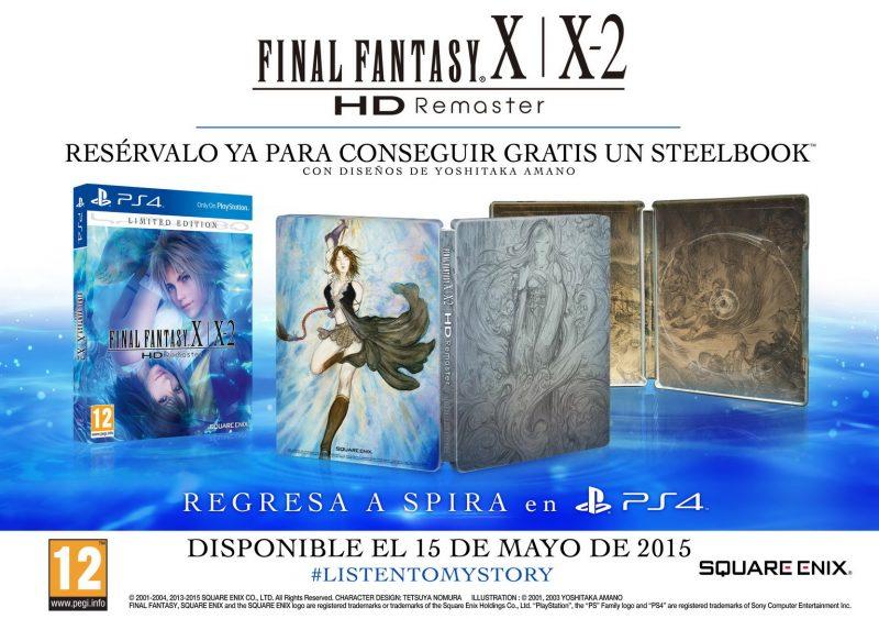 FFX-X2_contenidos edición limitada