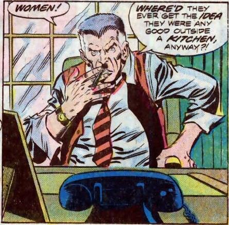 Mandón, testarudo, mentiroso y machista, Jameson es uno de los personajes más humanos de Spider-man