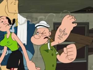 Popeye en Drawn Together