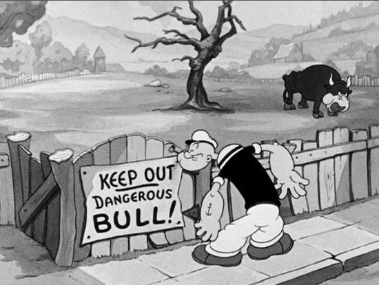 Popeye da el salto a la animación