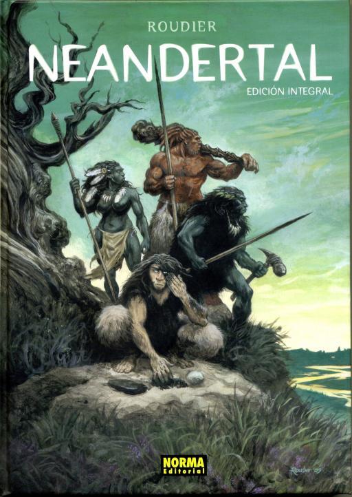 Neandertal, edición integral española.