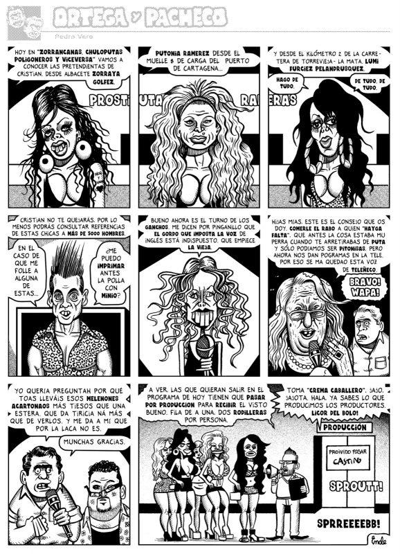 La telebasura es otro de los enemigos de Ortega y Pacheco