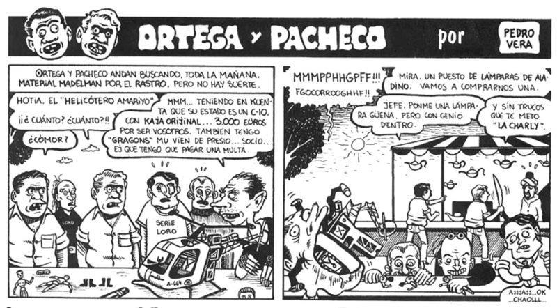 """Ortega y Pachecho acabando con la especulación de la moda """"retro y vintage"""""""