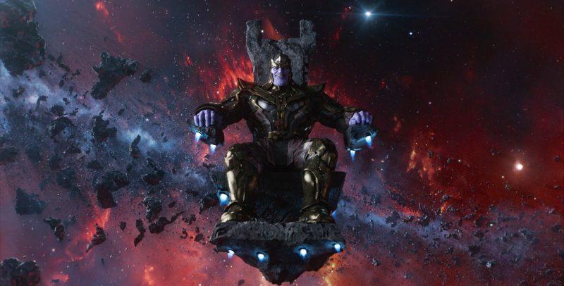 Thanos, Los Vengadores, Marvel