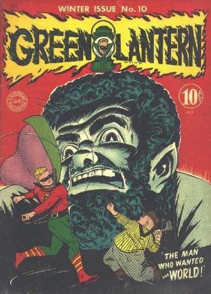 Vandal Savage Green Lantern original