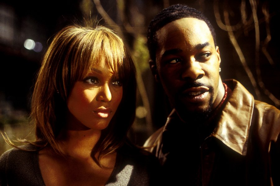 Busta Rhymes y Tyra Banks
