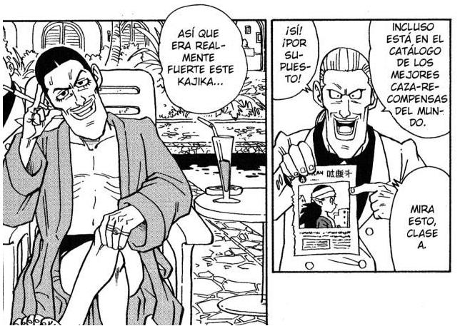 Gibachi, el principal enemigo de Kajika