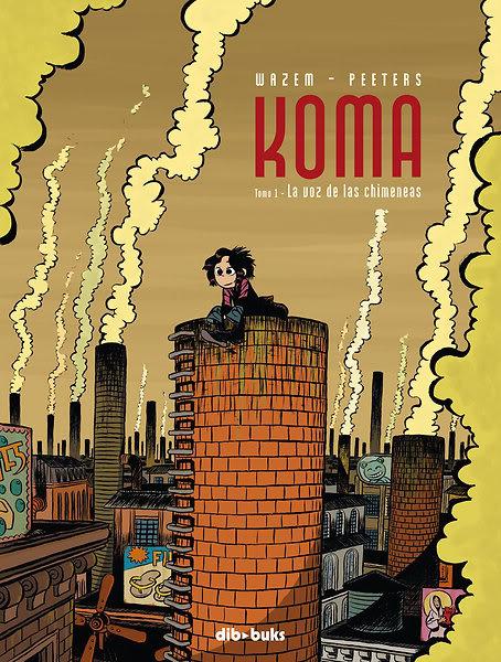 Tomo 1 de Koma, edición española.