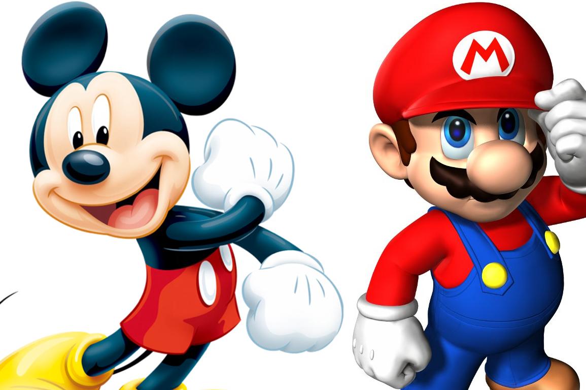 Mickey Mouse Mario