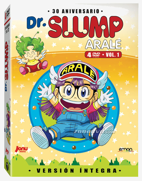 Anime de Dr. Slump en DVD