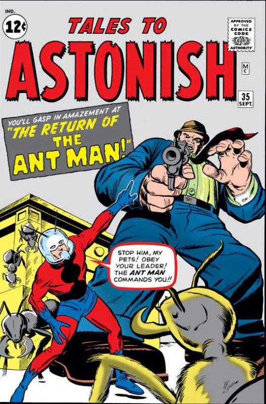 Primera aparición de Ant-Man