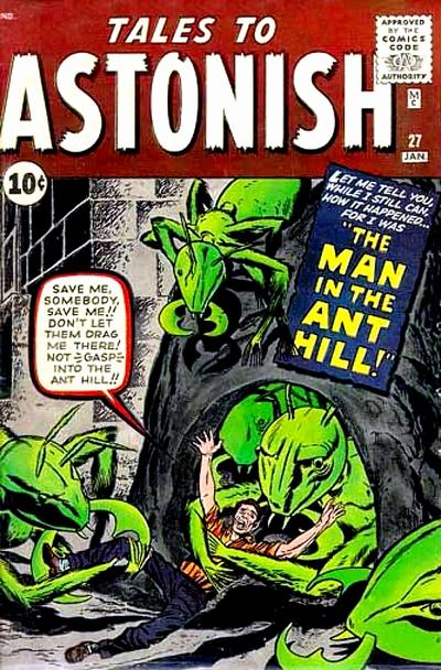 Primera aparición de Hank Pym