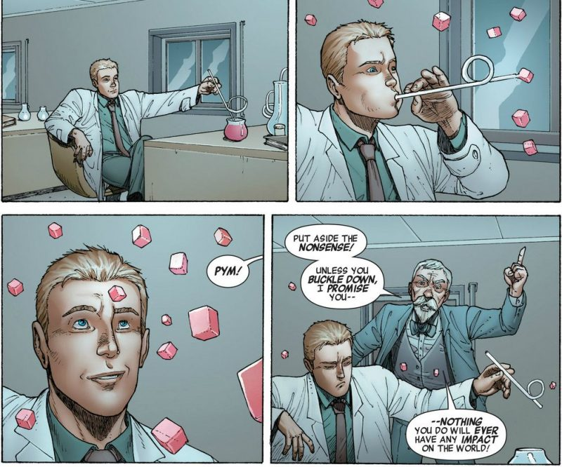 Hank Pym, tan inteligente como imaginativo