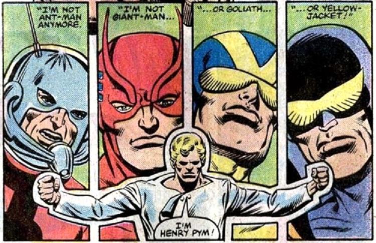 Pym, el hombre tras la máscara de muchos héroes