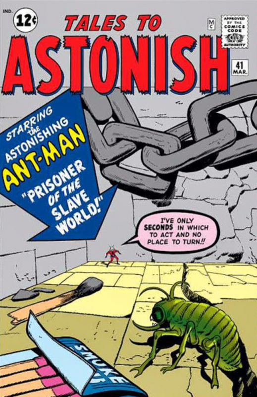 Tales to Astonish, las aventuras más locas de Ant-Man