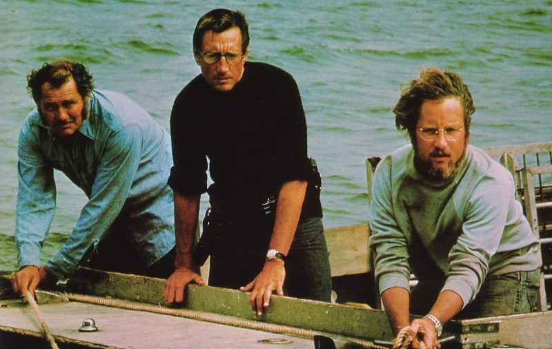 De izquierda a derecha: Quint, Brody y Hooper
