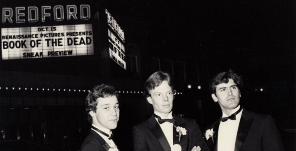 En esta foto podemos ver que la película se estrenó como Book Of The Dead