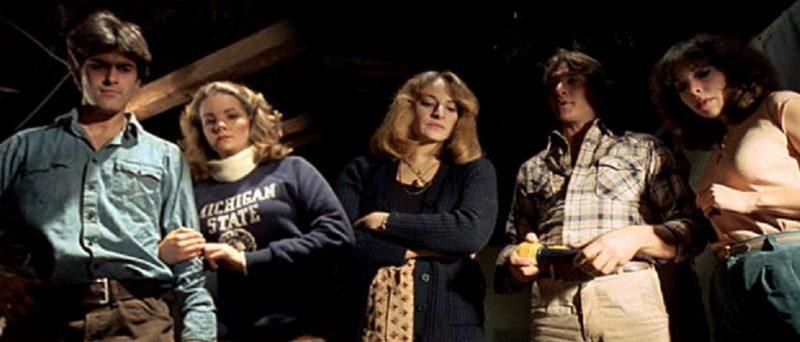 Los protagonistas al principio de la película