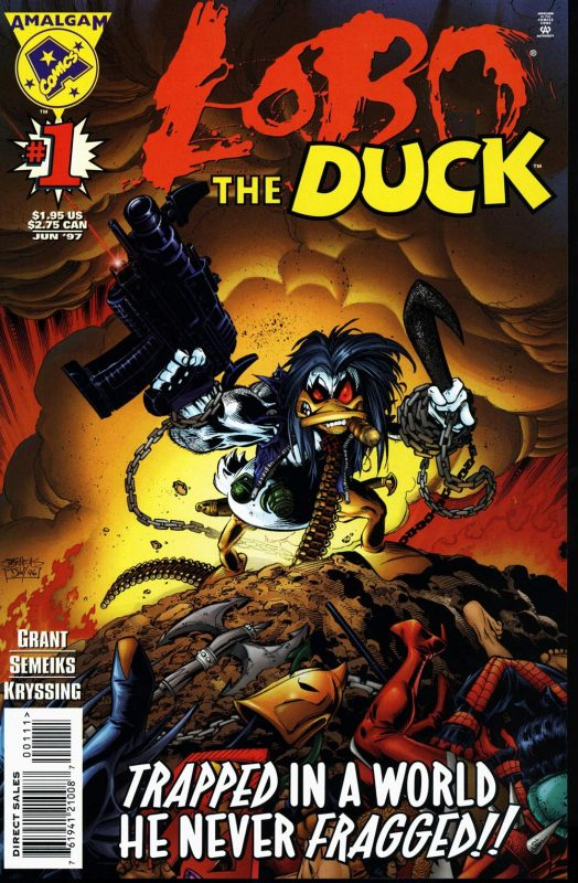 Lobo the Duck (Lobo + Howard el Pato)