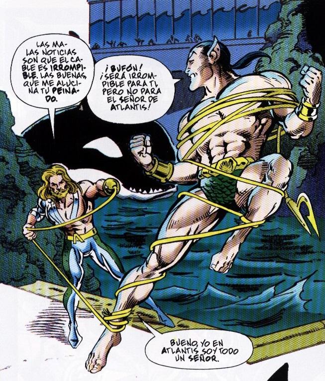 Aquaman y Namor, duelo de Reyes