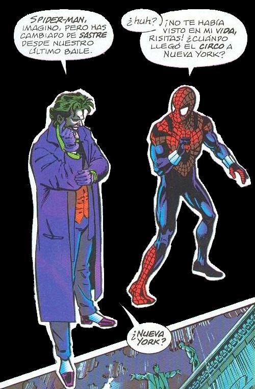 El Joker recuerda perfectamente a Spider-man