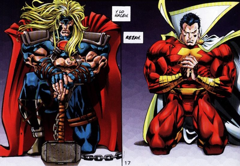 Marvel Vs DC Thor Shazam