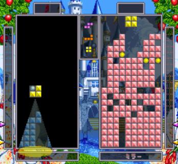 Tetris Battle Gaiden Halloween ataque