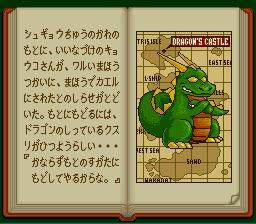 El dragón os esperará al final del juego