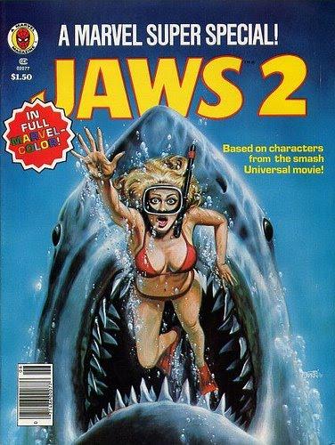 El cómic de Tiburón 2