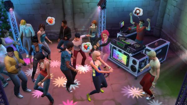 Sims discoteca