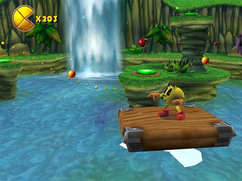 Uno de los primeros niveles de Pac-Man World 2
