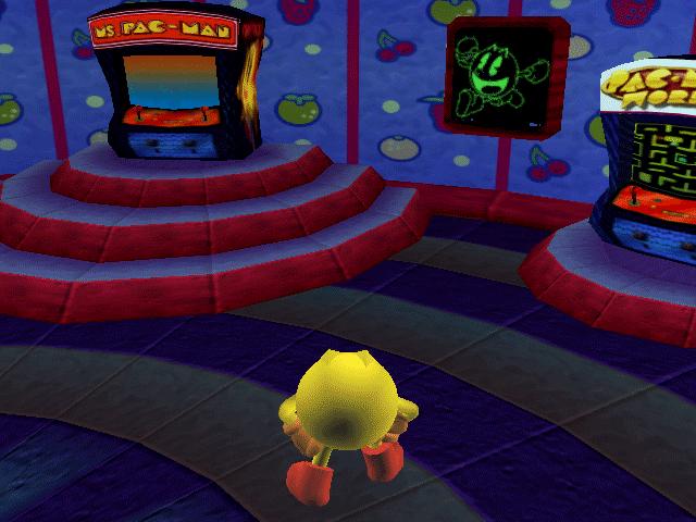 En el poblado de Pac-man encontraremos los arcades