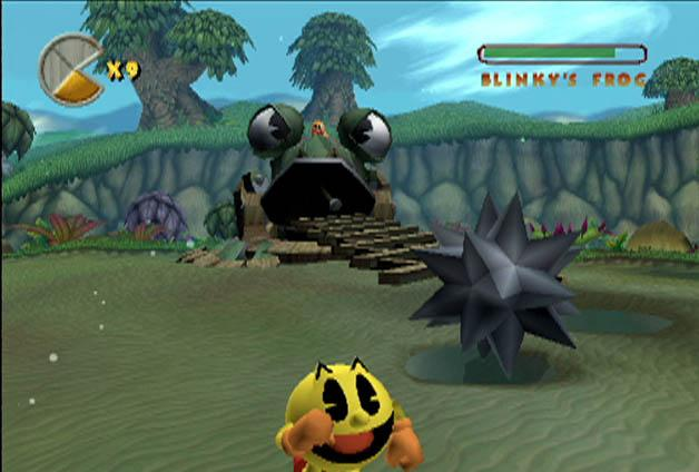 Los fantasmas usaran robots gigantes para derrotar a Pac-Man