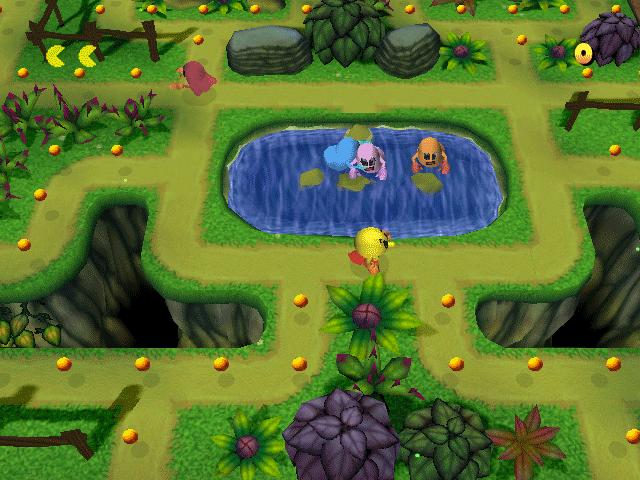 Uno de los Laberintos 3D que se pueden desbloquear en el juego