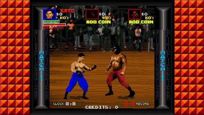 Midway Arcade Origins Pit Fighter