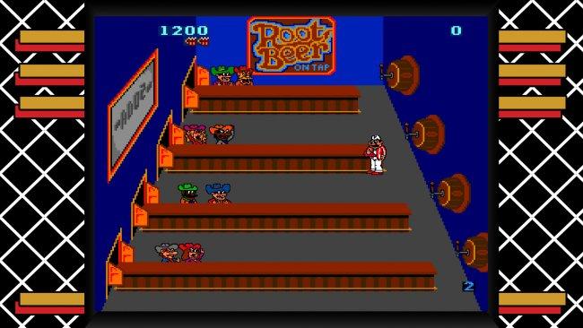 Midway Arcade Origins Tapper